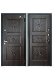 Входная металлическая дверь Мастино ТРЕНТО Дуб морёный