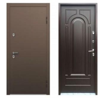 Входная  дверь с терморазрывом ТермоБУЛЬ Венге конго