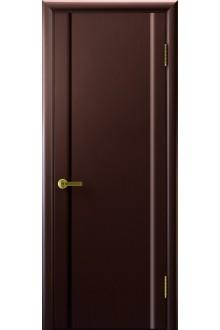 Межкомнатная дверь Синай 3 венге- глухая