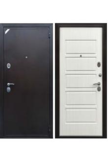 Входная металлическая дверь Eвро 2 Б2 Рубикон светлый венге
