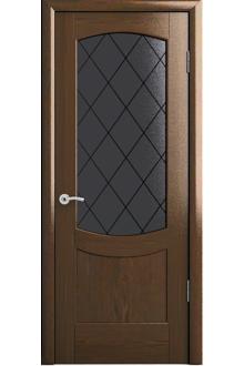 Межкомнатная дверь Лаура дуб морённый.