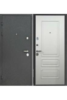 """Входная металлическая дверь Интекрон """"Персей 3D-Амадея"""" Белый ясень"""