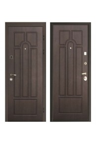 """Входная металлическая дверь Интекрон """"АФИНА CISA"""" Венге-Венге"""