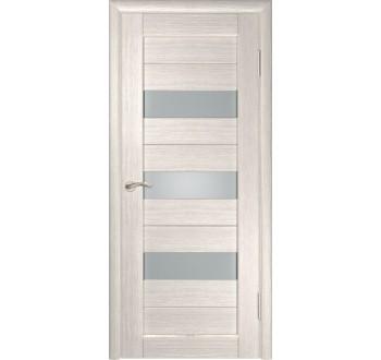 Межкомнатная дверь  экошпон ЛУ-23 (Капучино)