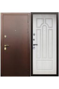 """Входная дверь АСД """"Прометей"""" белёный дуб."""