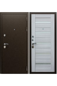 Входная металлическая дверь Маэстро 7Х Сандал белый