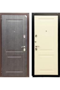 Входная дверь Зетта Евро 3 Бн2 Черное серебро/Перламутр