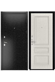 Входная  металлическая дверь Luxor-3b ( Гера-2 дуб RAL 9010)