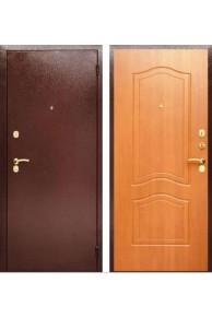 Входная металлическая  сейф-дверь  Аргус Да-2 Клён медовый.