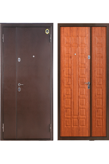 Тамбурная входная металлическая дверь Бульдорс 24Д