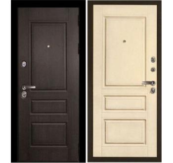 Входная металлическая дверь ZMD Премиум 116 Венге-Сандал белый