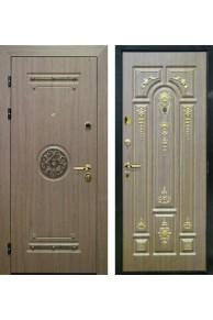 """Входная дверь Интекрон """"Клеопатра"""" Венге коричневый"""