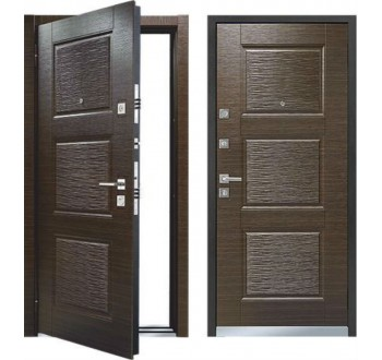 Входная металлическая дверь MASTINO LINE 3 (Темный венге / Темный венге)