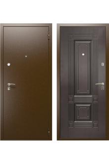 """Входная стальная дверь """"Оптима - 2"""" Венге ."""