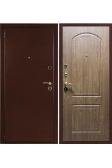 """Входная стальная дверь """"Оптим"""" Дуб Светлый"""
