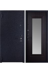 Входная металлическая дверь Триумф зеркало венге темное