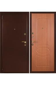 Входные металлические двери Триумф ЗД Миланский орех
