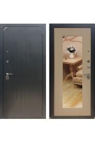 Входная дверь ZETTA Комфорт 2 Б1 Белёный венге с зеркалом