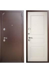Входная дверь ZETTA Eвро 2 Б2 Эмаль белая матовая