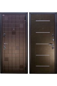 Входная металлическая дверь Арма Тетрис - Венге.