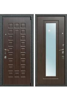 Входная дверь Лекс 4А с зеркалом (Венге / Венге)