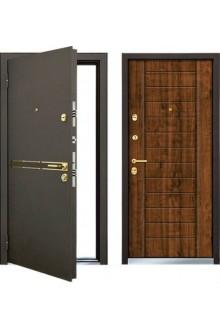 Входная металлическая  дверь MASTINO STRADA (Дуб медовый)