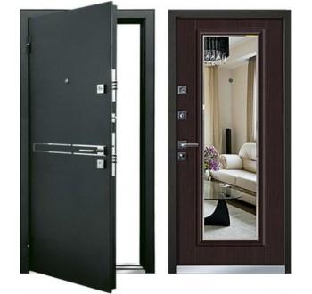 Входная дверь с зеркалом MASTINO PARKO (Венге Норд)