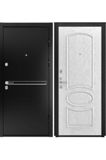 Входная  металлическая дверь Luxor- 4 ( Грация дуб белая эмаль)