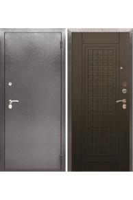 Входная металлическая Сейф дверь Аргус Люкс Про Альма Антик серебро/Венге тисненый