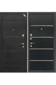 Входная  металлическая дверь Зетта Комфорт 2Д1 Платан молдинг