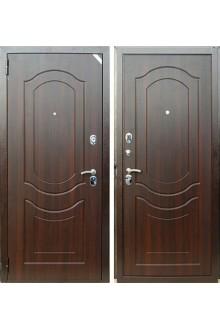 Входная дверь ZETTA Комфорт 3 Б1 Темный орех