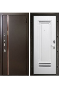 Входная металлическая дверь Норд ( муар коричневый).