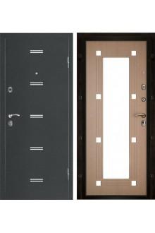 Дверь входная металлическая в квартиру Монарх с зеркалом