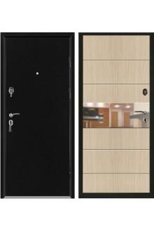 Дверь входная металлическая в квартиру Сити (Мокко).
