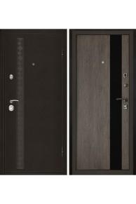 Дверь входная металлическая в квартиру Гермес с замком CISA (Серый дуб)