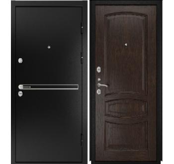 Входная  металлическая дверь Luxor- 4 ( Деметра мореный дуб)
