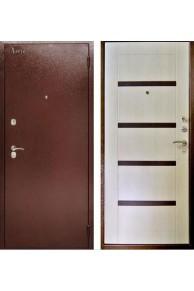 Входная  металлическая  сейф-дверь Аргус ДА-11 Дуб беленый.