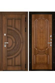 Дверь входная металлическая в квартиру Страж Премьера (Каштан)