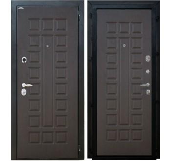 Входная металлическая дверь Интекрон Спарта (венге - венге)
