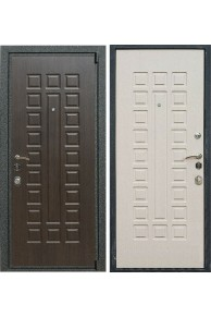 Входная металлическая дверь Лекс 4А Mottura (Венге /Белёный дуб)