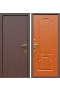 Входная металлическая дверь Лекс 3А Mottura (Вишня)