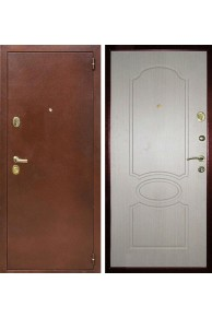 Входная металлическая дверь Лекс 2 (Беленый дуб)