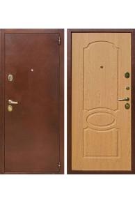 Входная металлическая дверь Лекс 2 (Натуральный дуб)