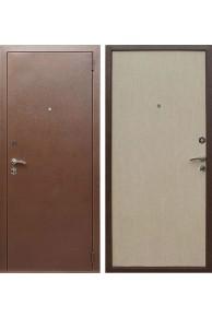 Входная металлическая дверь Лекс Эконом (Беленый дуб)