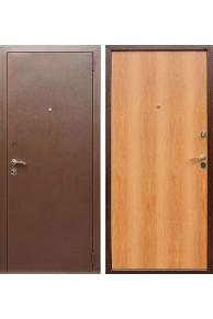 Входная металлическая дверь Лекс Эконом (Миланский орех)