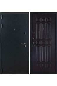 """Входная стальная дверь """"3К Лайт"""" Черный Бархат-Венге"""