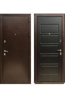 Входная металлическая дверь Зетта Экстра 2/Д6 Венге