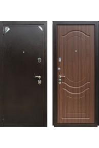 Входная дверь ZETTA Eвро 2 Б2 Тисненный орех