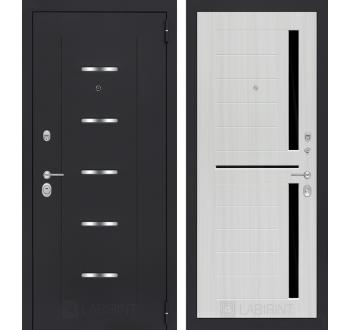 Входная металлическая дверь Лабиринт АЛЬФА 02 - Сандал белый или Венге