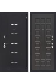 Входная металлическая дверь Лабиринт АЛЬФА 04 - Венге или Беленый дуб